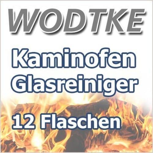 12 x Wodtke Kaminofen Scheibenreiniger / Glasreiniger