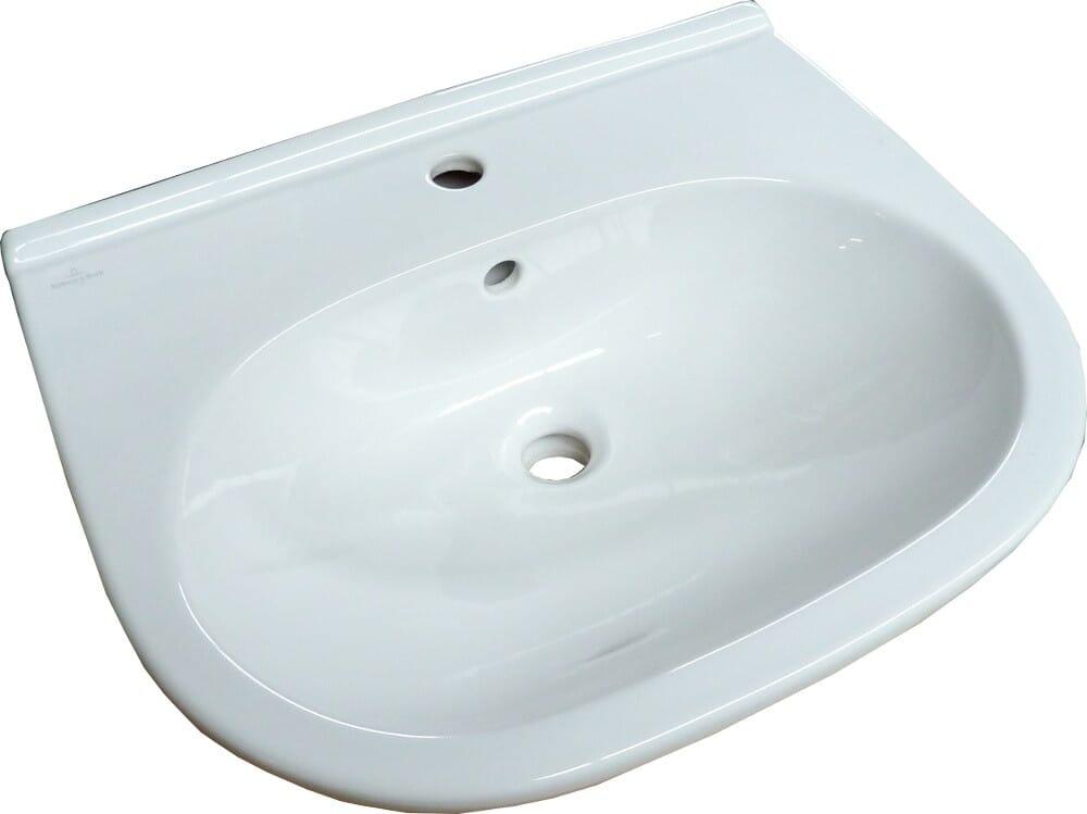 Villeroy & Boch O.Novo Waschbecken 600 x 490 mm in weiß optional mit Zubehör