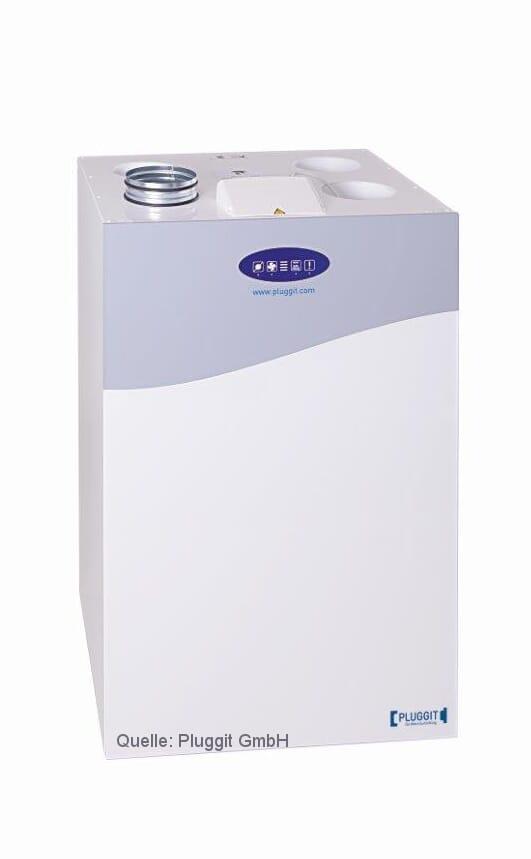 Pluggit zentrales Wohnraumlüftungsgerät mit Wärmerückgewinnung Avent P190