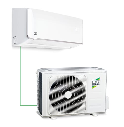 Inverter Klimaanlage Remko ML 355 DC 3,5 kW (11942 BTU/h)