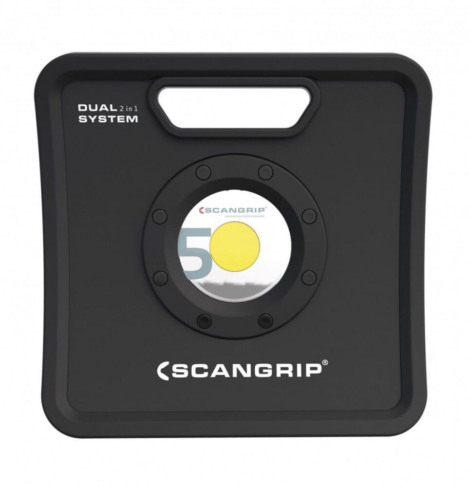 Scangrip Projecteur à LED NOVA 42 W 500-5000 lm 5 m H05RN-F 2 x 1 mm² Li-Ion 5200 mAh 11,