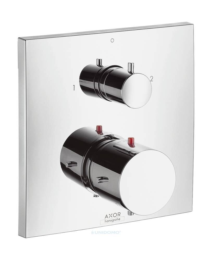 Hansgrohe Thermostatmischer Unterputz Axor Starck X Absperr-& Umstellventil