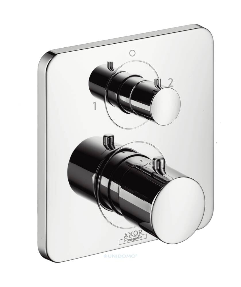 Hansgrohe Axor Citterio Thermostat Absperr- /Umstellventil Hebelgriff
