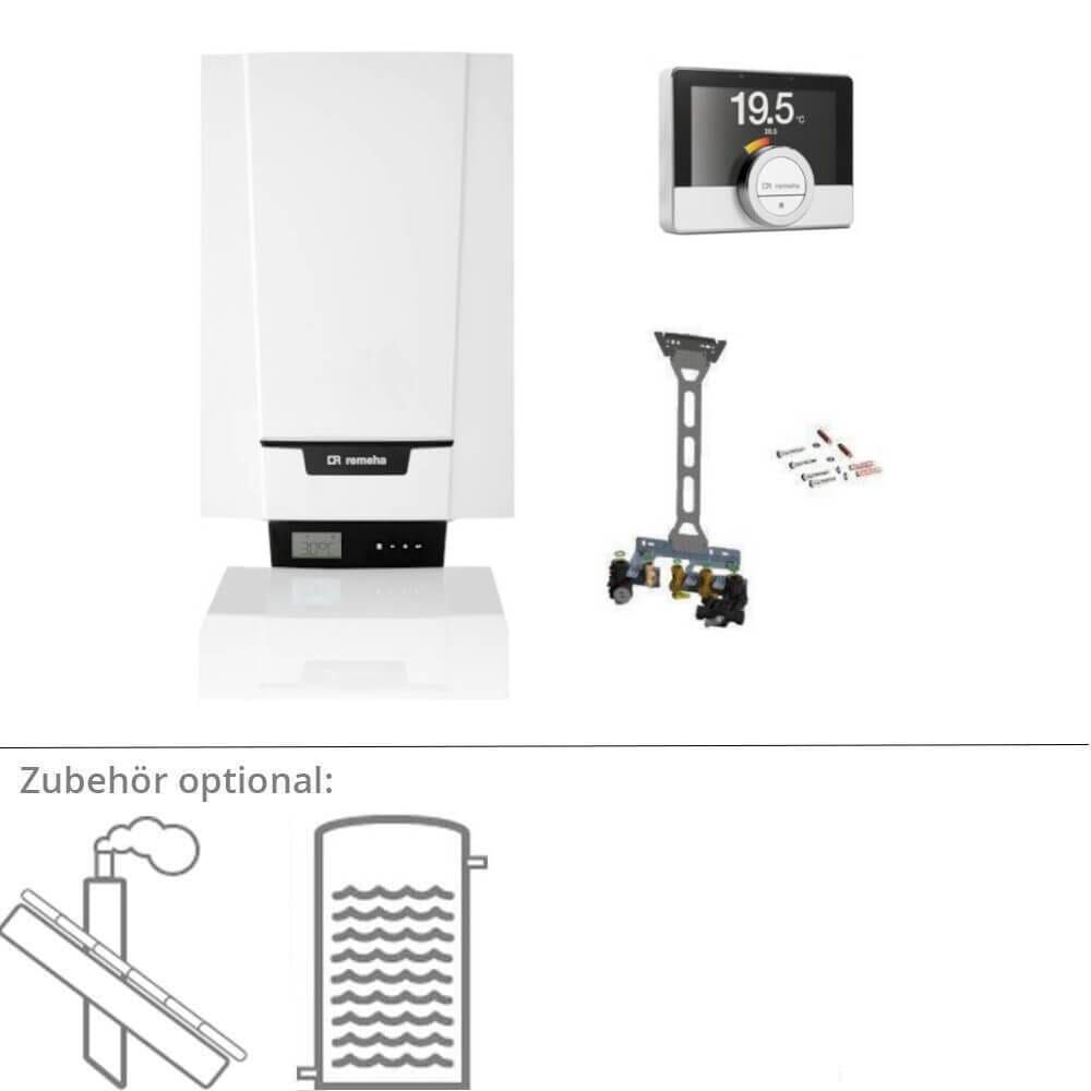 Remeha Tzerra Ace 15 DS Gastherme Gas-Brennwerttherme mit eTwist Regler