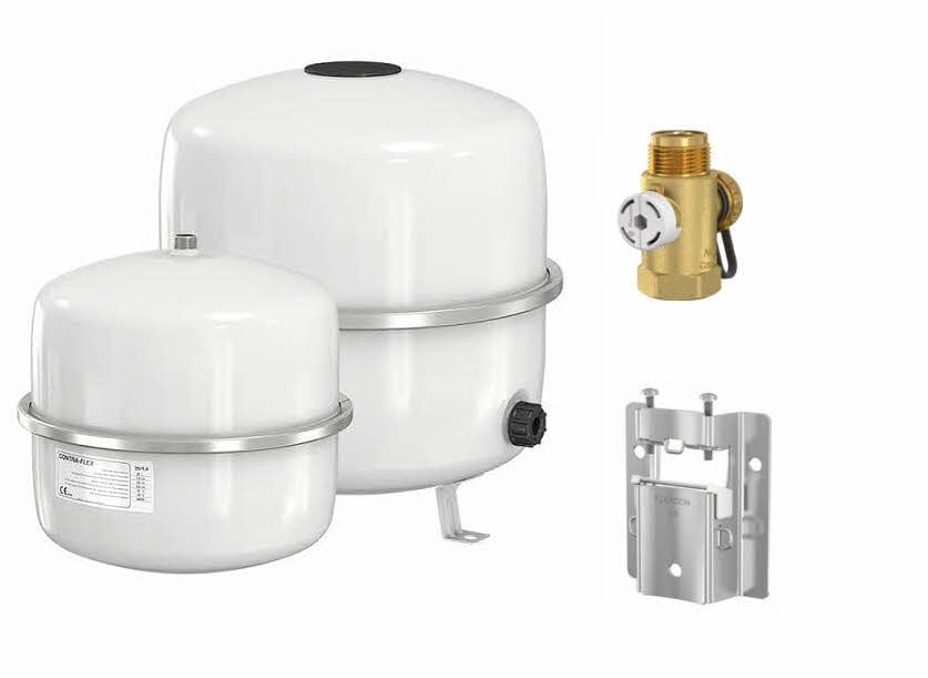 Buderus Logafix Membran Druckausdehnungsgefäß für Heizungsanlagen 18 - 80 Liter