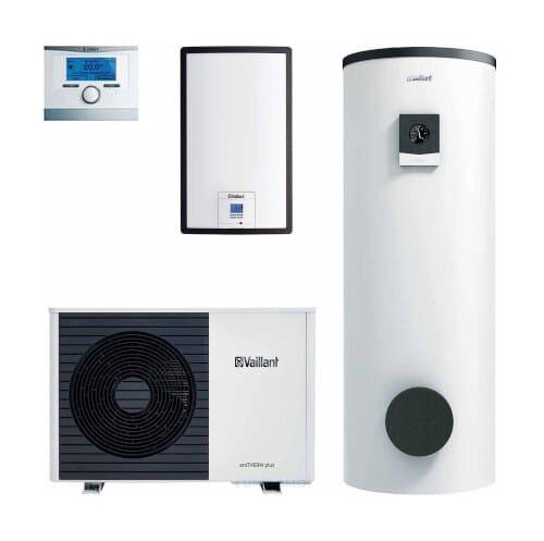 Vaillant Luft/Wasser Wärmepumpe aroTHERM plus VWL 35/6, 55/6, 75/6, 105/6, 125/6 A mit uniSTOR plus VIH RW 300