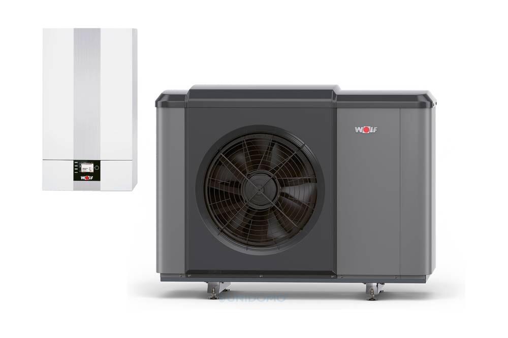 Wolf Luft/Wasser- Wärmepumpe CHA-Monoblock 07/400V oder 10/400V mit E-Heizelement