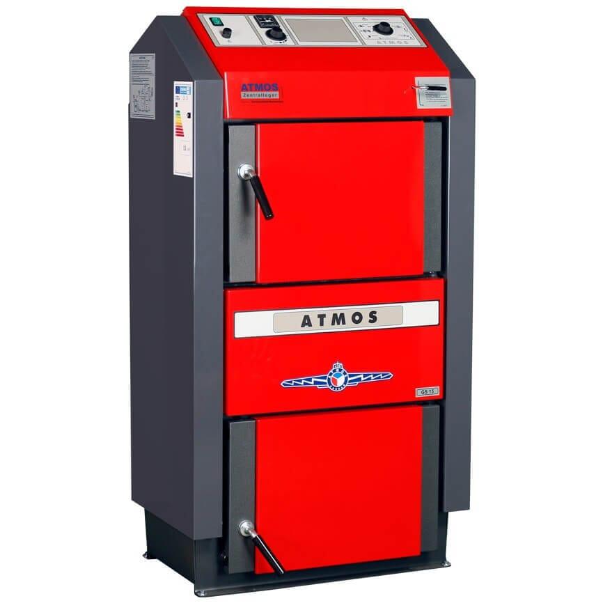 Atmos Holzkessel / Holzvergaserkessel GS 15 bis GS 40