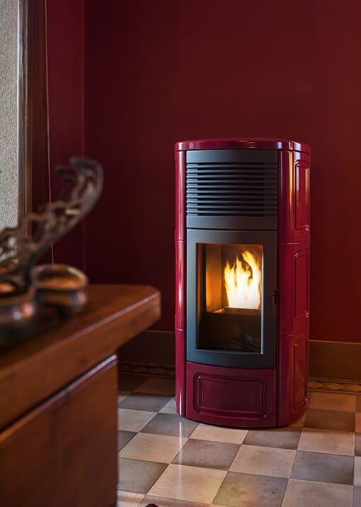 MCZ Pelletofen Suite Comfort Air Maestro 11,9 kW Luftkanalisierung in andere Räume