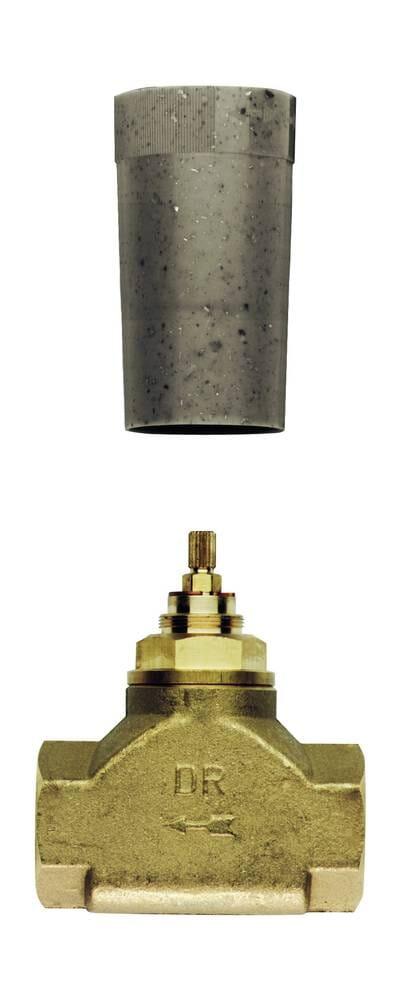 Grohe Unterputz-Ventil-Unterteil Oberteil Gewindeanschluß 1 Zoll