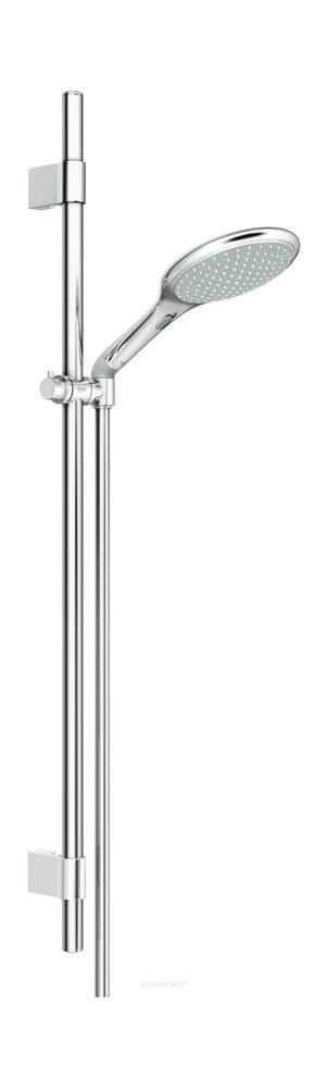 Grohe Brausegarnitur Rainshower Solo EasyFix 90 cm Wandhalter Metall