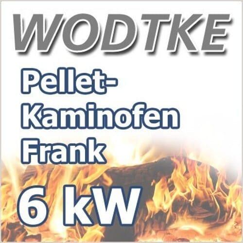 Wodtke Pelletofen Frank air+ 6 kW Verkleidung Speckstein Art.Nr. 055 403