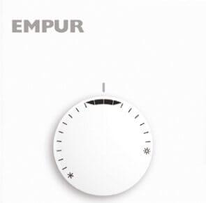 Buderus / Empur Raumthermostat Objekt für Fußbodenheizung