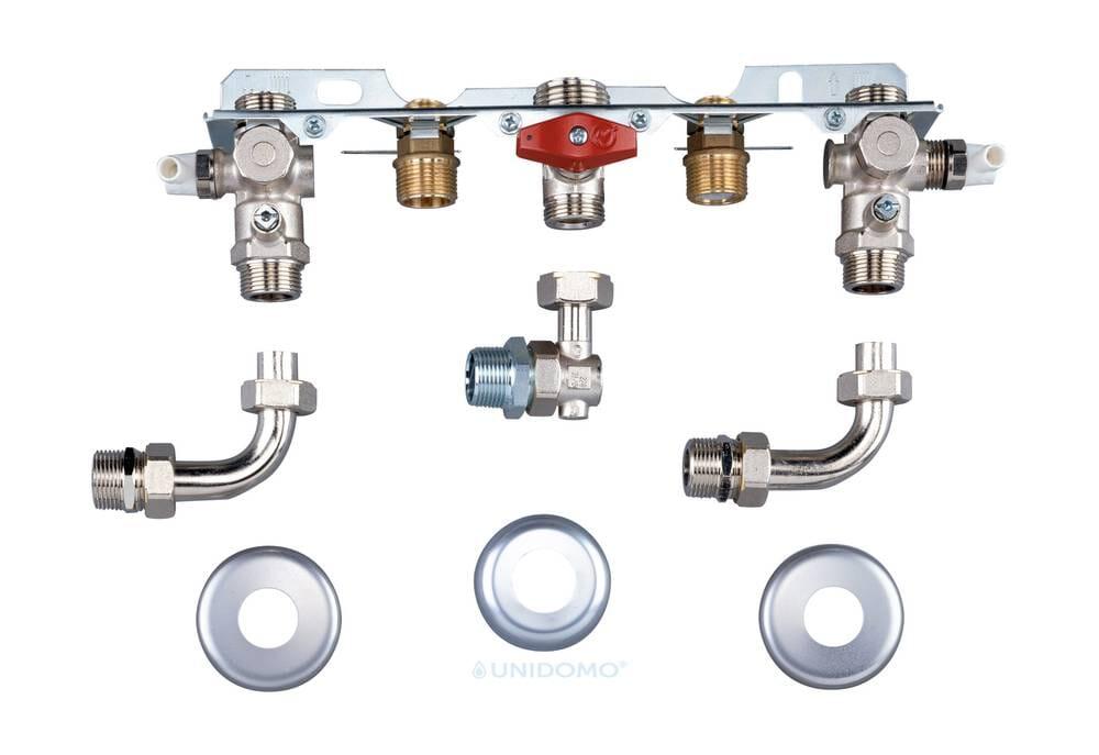 Bosch Montageanschlussplatte Unterputz für Gas Brennwert Cerapur(-Eco)