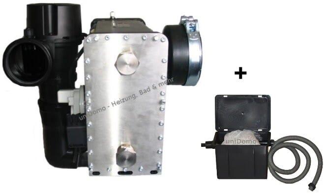 ATEC Abgas emax Wärmetauscher GPH AK 28 mit Neutralisationsbox