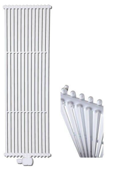 Christesen V3 Duplex Vertikal Röhrenheizkörper doppelt Wohnraumheizkörper weiß