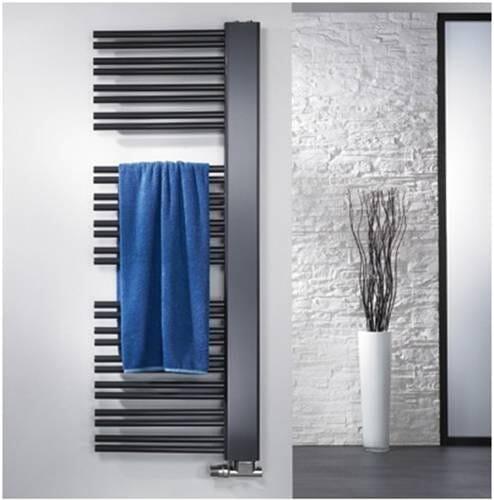 HSK Handtuchheizkörper Badheizkörper Softcube Plus seitlich offen 1610 x 610 mm links