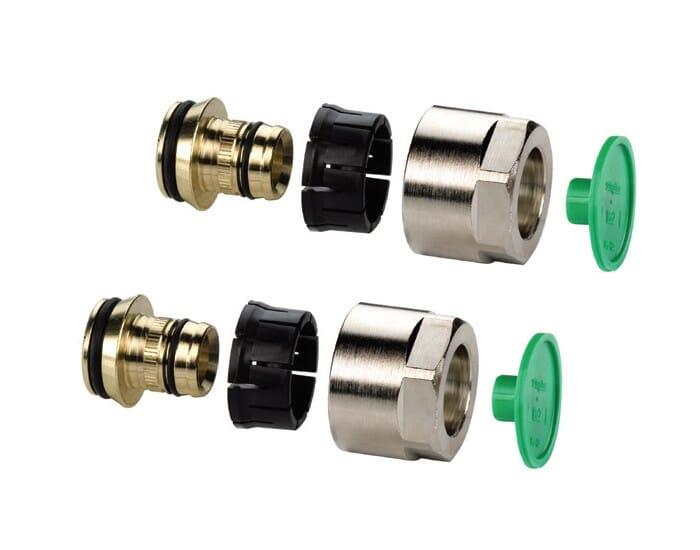 Buderus 16x2 mm Klemmringverschraubung für Kunststoff und Mehrschichtverbundrohre