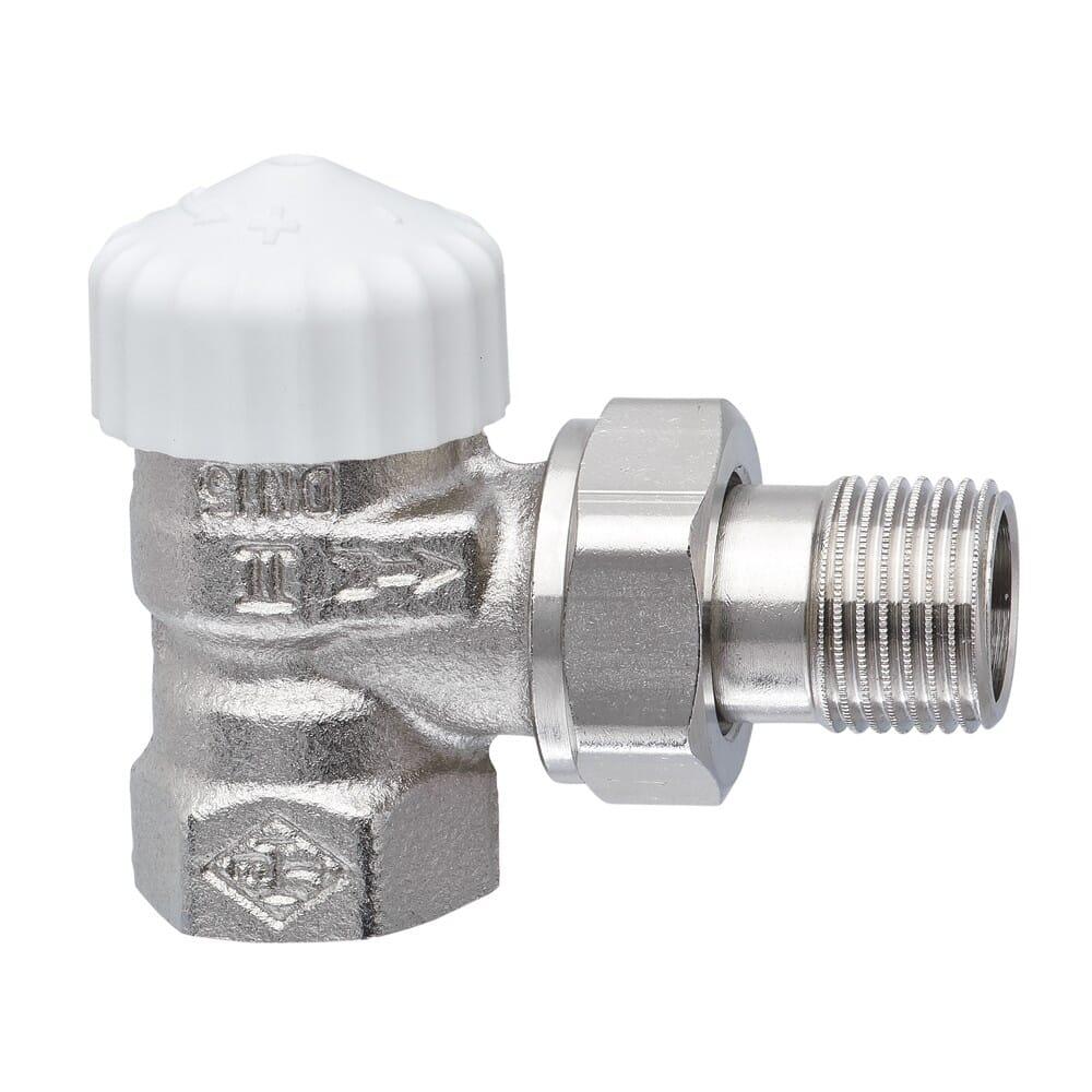 Heimeier Thermostat-Heizkörperventil V-exakt II 1/2 Zoll Eckform