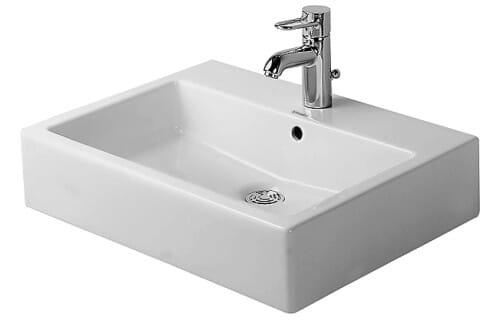 Duravit Aufsatz-Waschtisch Vero 50 x 47 cm für 1-Loch-Armatur