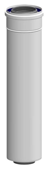 ATEC Abgas Rohr DN 80/125 konzentrisch 500 mm Abgasrohr